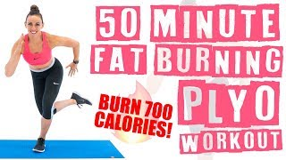 Download lagu 50 Minute At Home Fat Burning Plyo Workout Burn 700 Calories MP3