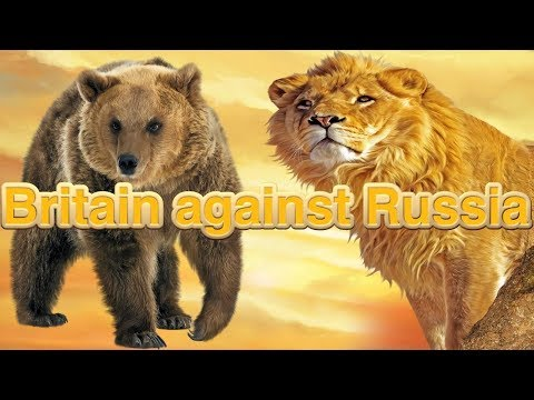 Britain against Russia, a sign of the times