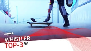 Whistler | Women's Skeleton Top-3 | IBSF Official
