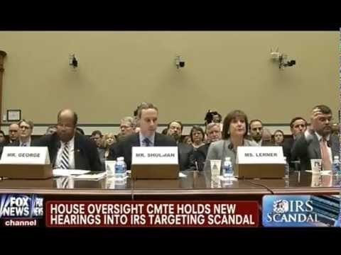 IRS Conservative-Targeting Scandal Hearings - Lois Lerner Refuses to Answer