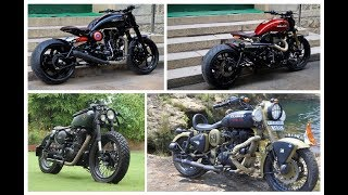 BEST OF 2019  TOP 10 MODIFIED ROYAL ENFIELD BULLET  AMAZING MODIFICATION OF 2019