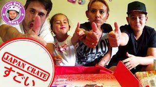 Japan Crate Candy Challenge - japanische Süßigkeiten August 2015 Teil 2 - Kinderkanal