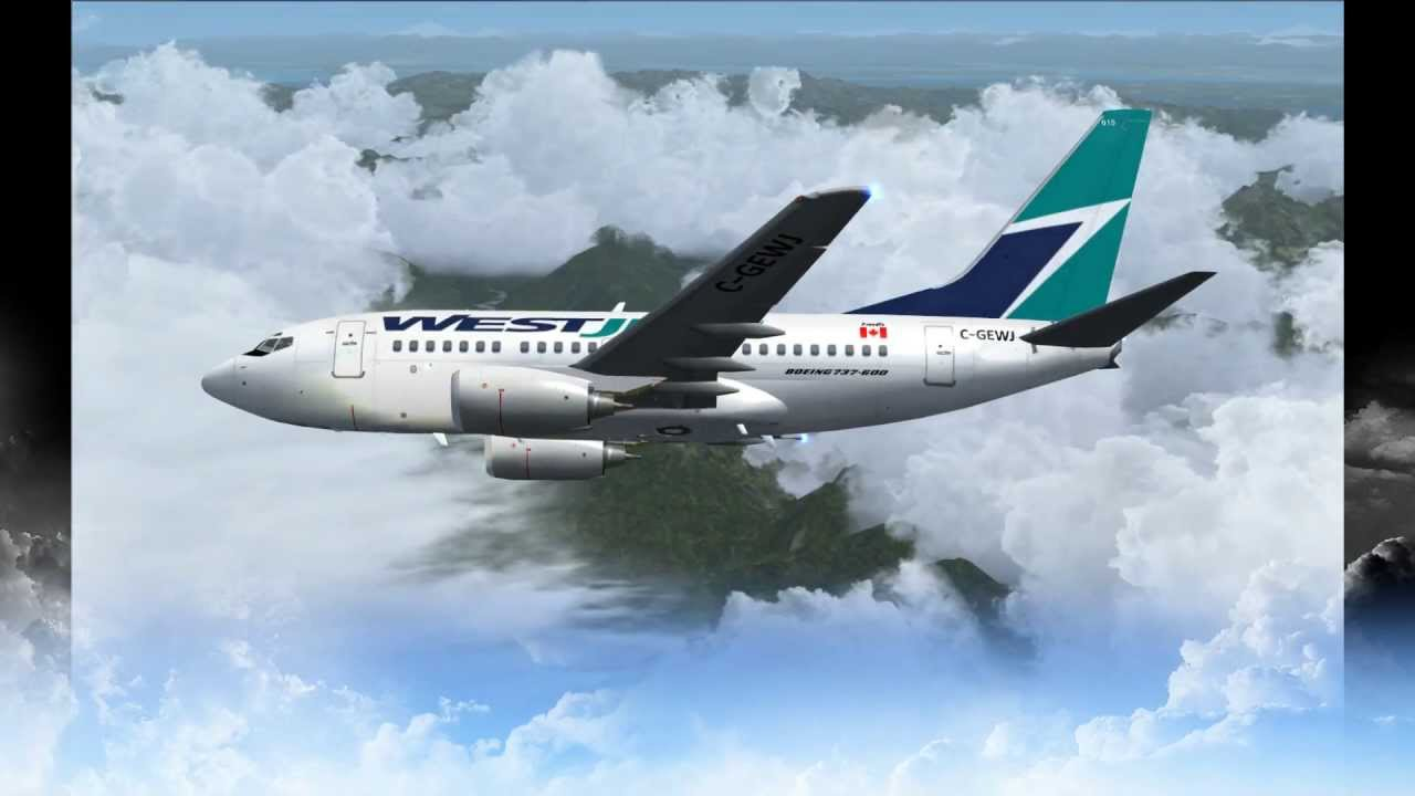 Westjet boeing 737 600 1080 hd turbulence youtube for Interieur avion westjet