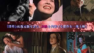 京マチ子、若尾文子、山本富士子…特集上映「大映女優祭」予告編