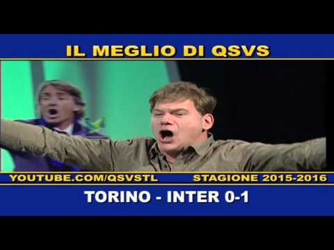 QSVS I GOL DI TORINO - INTER 0-1  -TELELOMBARDIA / TOP CALCIO 24