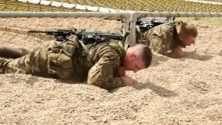 Commando Training Centre Royal Marines assault course