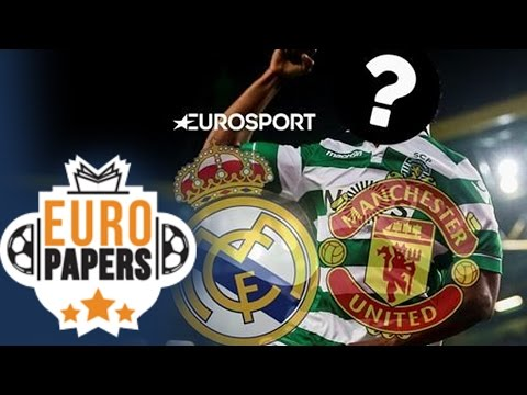 Euro Papers: Real Madrid fight United for €60m Portuguese prodigy