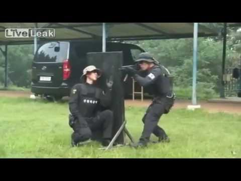 Copy of FULL South Korean SWAT shooting training 1