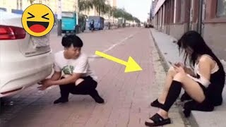 funny videos 🤣 comedy video/ prank video /funny videos 2021/ Chinese comedians P 5