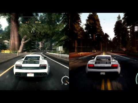 NFS Rivals vs Hot Pursuit Graphics Comparison