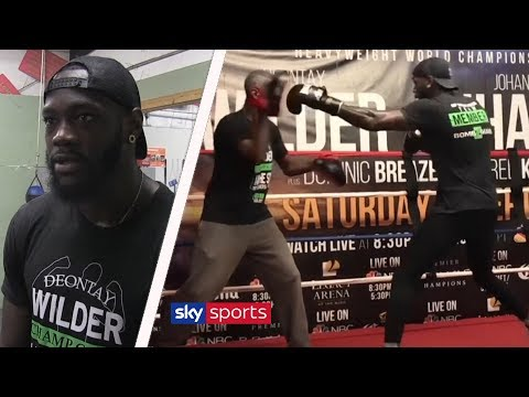 HEATED! Deontay Wilder sends message to Tyson Fury & warns Anthony Joshua