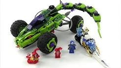 LEGO Ninjago Set 9445 - Schlangen-Quad / Review deutsch