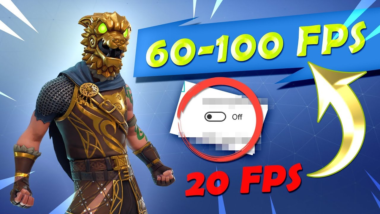 🛠 *NEW* Simple Fortnite FPS Boost on Low End PC