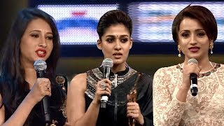 South Indian Actresses Emotional Moments