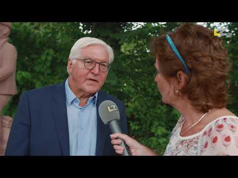 Bundespräsident Frank Walter Steinmeier in Brakelsiek