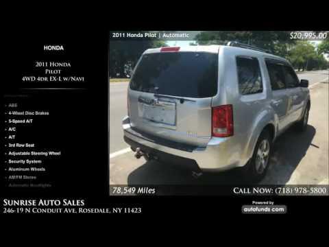 Used 2011 Honda Pilot | Sunrise Auto Sales, Rosedale, NY