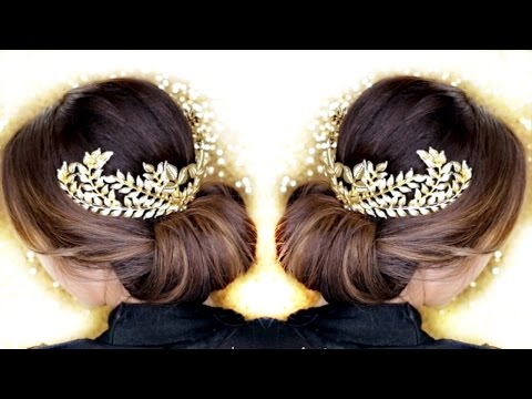 3 Elegant UPDOS ★ EASY HAIRSTYLES  | ROMANTIC UPDO