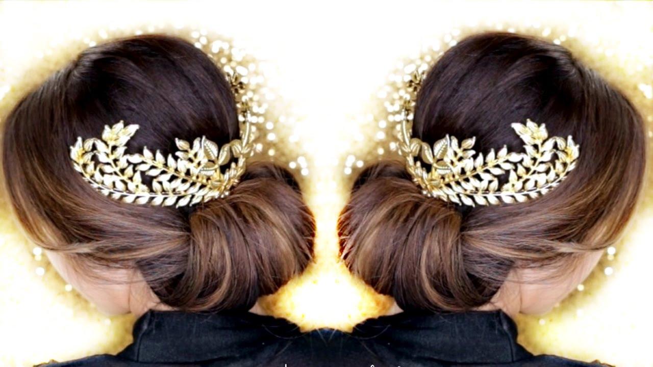 Hair Style Updo Easy: 3 Elegant UPDOS ★ EASY HAIRSTYLES