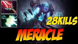 Meracle Plays Arc Warden WITH 28 KILLS - 8000 MMR - Dota 2