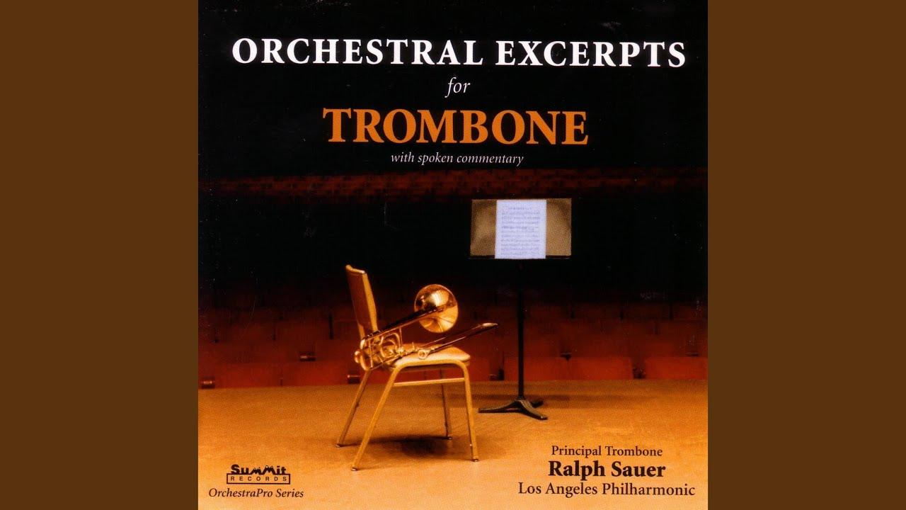 Strauss - Till Eulenspiegels lustige Streiche - Trombone