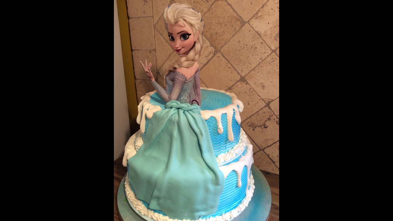 Frozen Elsa Castillo Cake Pastel Bolo Bizcocho Torta