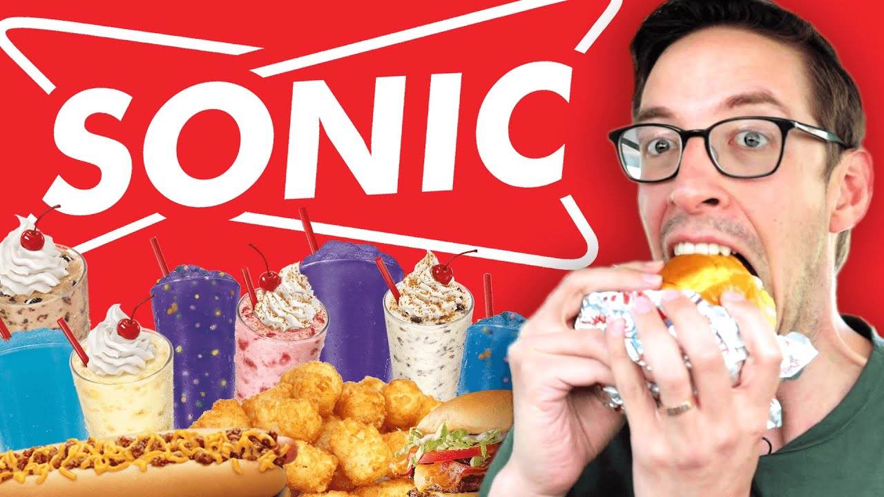 Keith Eats Everything At Sonic