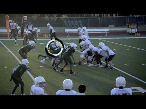 Tommy Dunn Jr 8th Grade Football Highlights