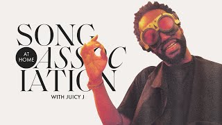 Juicy J Raps 2 Chainz, Three 6 Mafia, and 2 Live Crew in a Game of Song Association | ELLE