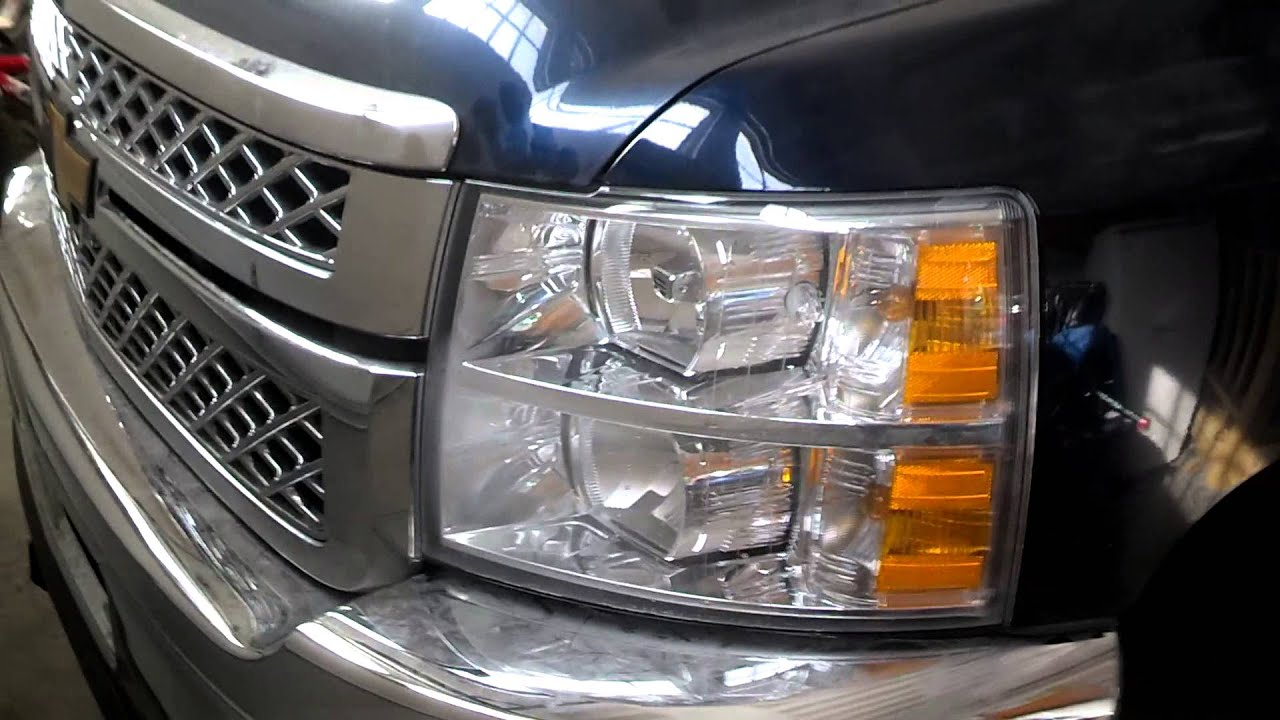 2011 Chevy 2500 Silverado Wolo Strobe Lights Youtube