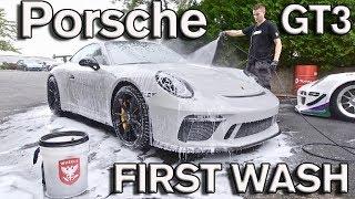 Porsche GT3 First Wash & Drive