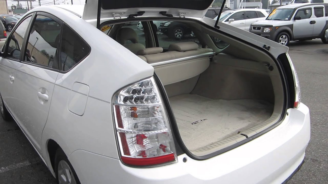 2006 Toyota Prius, White   STOCK# 12720P   Interior   YouTube