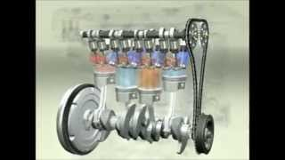 4 Stroke Engine Working Animation