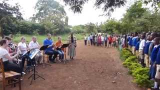 Tanzanian Anthem performed with Majengo Primary students