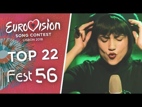 Eurovision 2018 (Festivali i Këngës 56/Albanian Selection) - Top 22