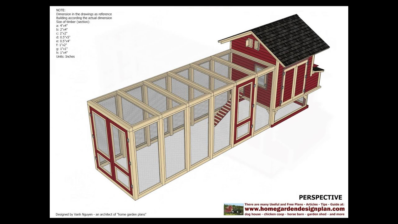L102 chicken coop plans free how to build a chicken for Build a house online free
