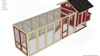 L102 - Chicken Coop Plans Free - How To Build A Chicken Coop