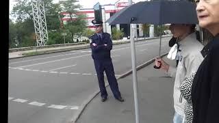 Кортеж Януковича в Донецке