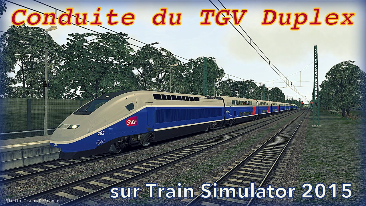 train simulator conduite du tgv duplex tutoriel fr youtube. Black Bedroom Furniture Sets. Home Design Ideas