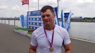 Иван Штыль - двукратный чемпион России-2018 в гребле на 200 м на каноэ-одиночке и двойке