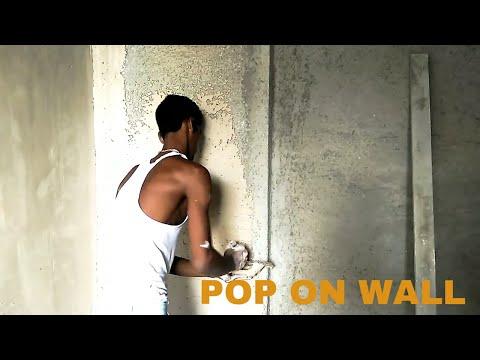 How Pop Gypsum Plaster Of Paris On Wall Gypsum Plaster    Hi - Tech Gypsum