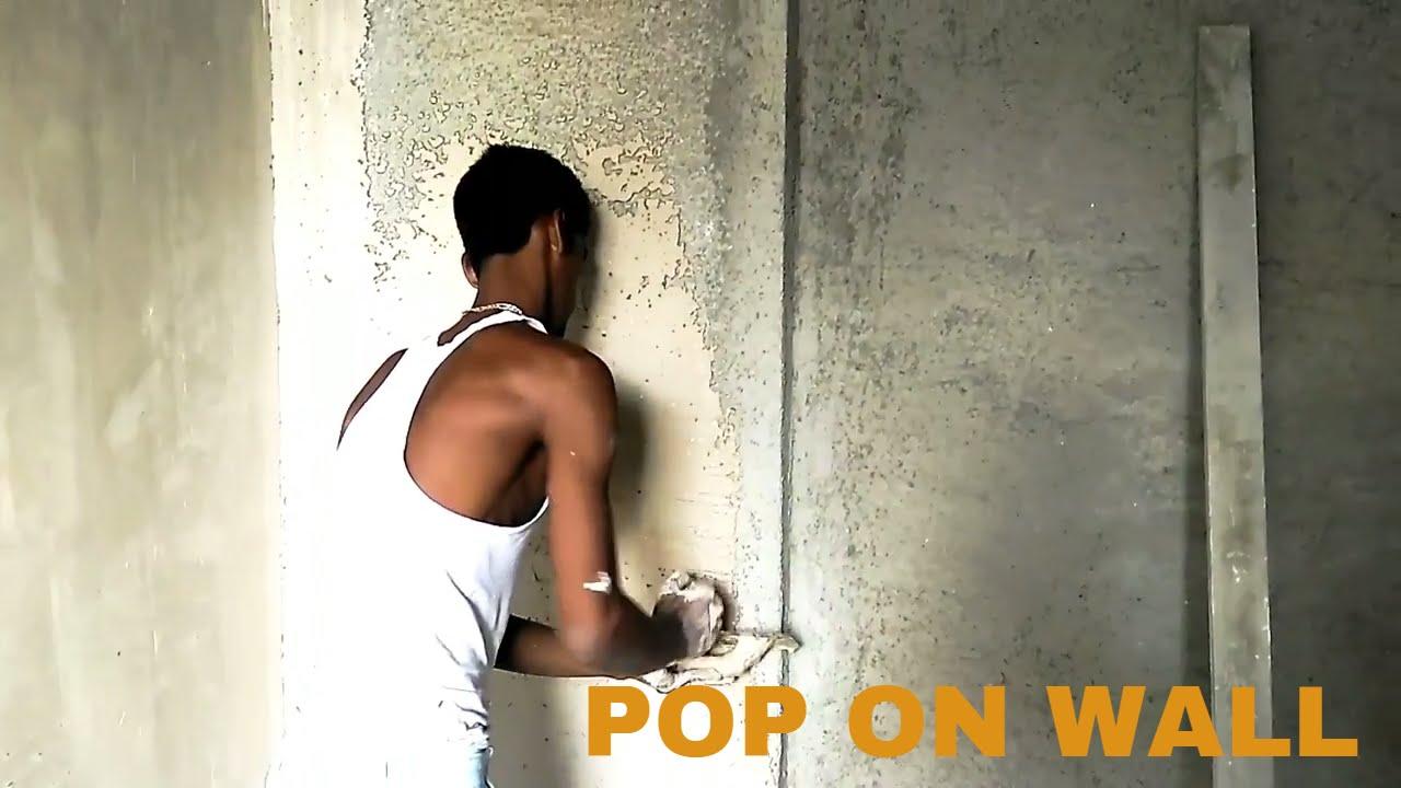 Gypsum Plaster Of Paris : How pop gypsum plaster of paris on wall