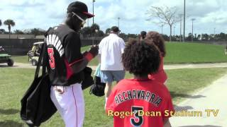 Miami Marlins Spring Training-Full Squad Workout 2014