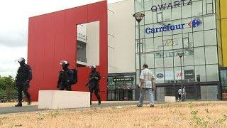 Villeneuve-la-Garenne: braquage dans un centre commercial