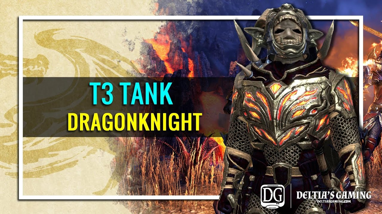 ESO Dragonknight Tank for Homestead [T3]