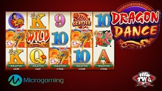 Dragon Dance Online Slot Game from Microgaming(Dragon Dance Online Slot Bonuses and Specials: http://online.casinocity.com/slots/game/dragon-dance/ http://www.ThisWeekInGambling.com - The Dragon ..., 2016-03-24T22:12:23.000Z)