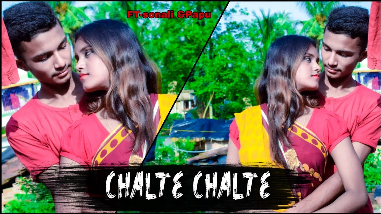Chalte Chalte - Mohabbatein | Cute Love Story | New Hindi Song| Shahrukh Khan | Love Attracion