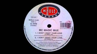 MC Magic Max - I Don