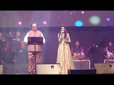 PRIYANKA FIRST TIME SINGING WITH SP BALA SIR