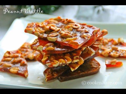 Peanut Brittle - 3 Ingredients