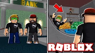 ROB A BANK OBBY ROBLOX / GRAB 1.000.000 DI DOLLARI E RUN!!!!